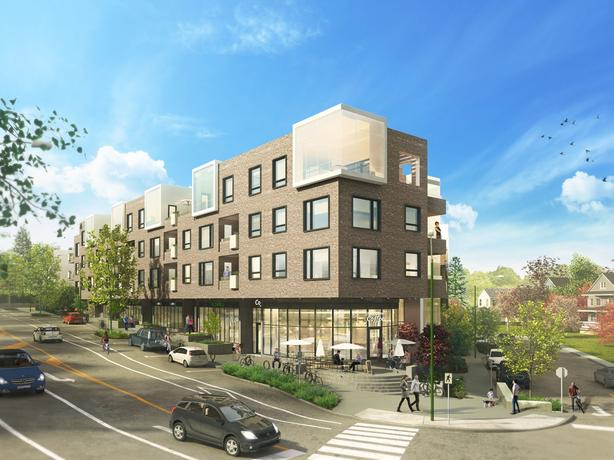 New Commercial Space for Lease in Luxury Mixed-Use Development