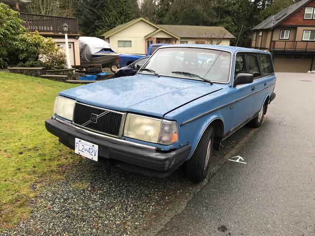 1986 Volvo 240 Wagon West Shore Langford Colwood Metchosin