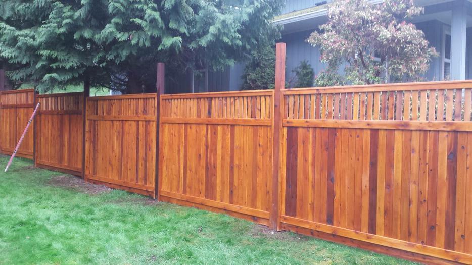 Direct Cedar Fence Panels And Lumber Outside Nanaimo Nanaimo