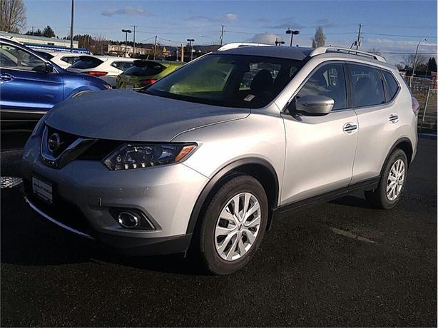 2014 Nissan Rogue S FWD 1 OWNER BC CERTIFIED PRE OWNED