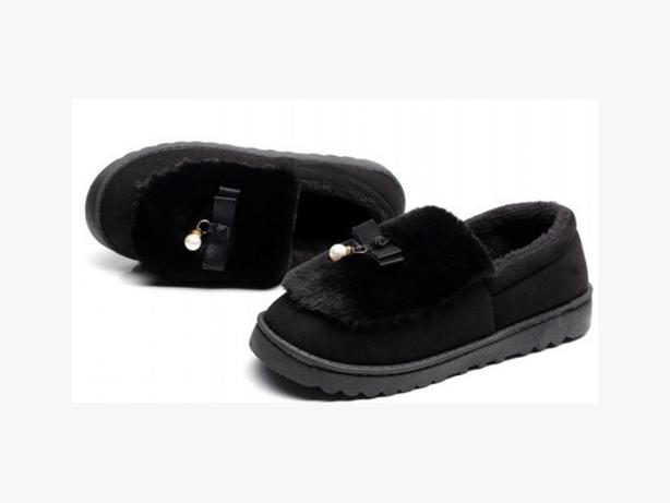 New Warm Flock Winter Faux Fur Slippers DT1048 - $12