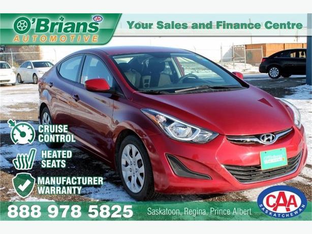 2016 Hyundai Elantra GL w/Mfg Warranty