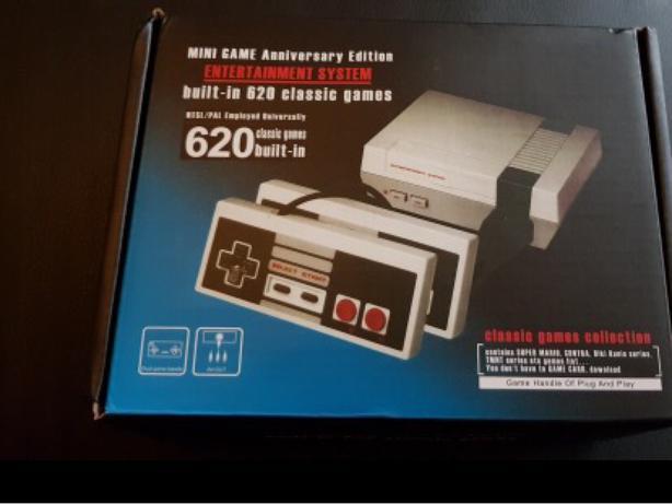 MYOHYA Mini Retro Classic Video Game Console Built-in 620