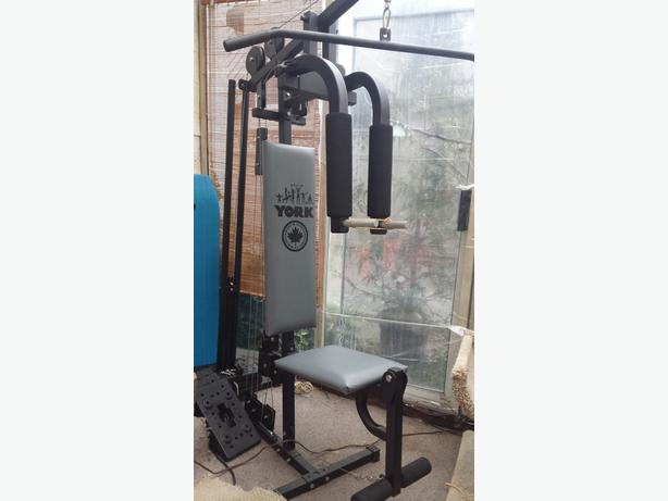 Compact york gym for sale north saanich sidney victoria