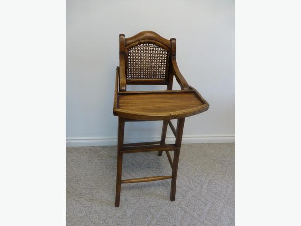 Antique High Chair from Shanghai
