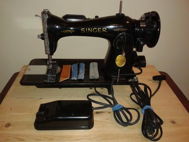 BEAUTIFUL Vintage Singer 4040 Gear Driven Sewing Machine FULLY Gorgeous Singer 1591 Sewing Machine
