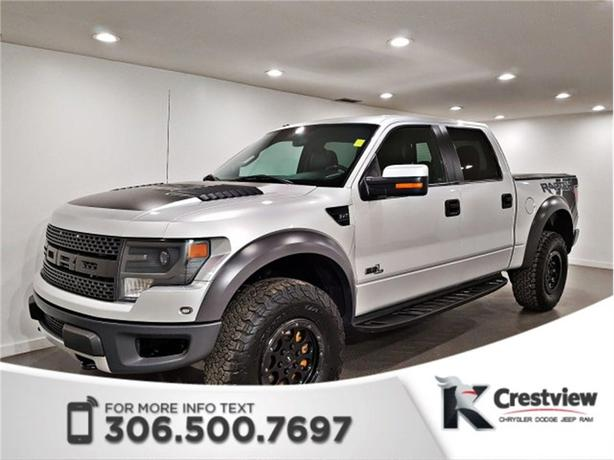 2014 Ford F-150 SVT Raptor SuperCrew | Leather | Sunroof
