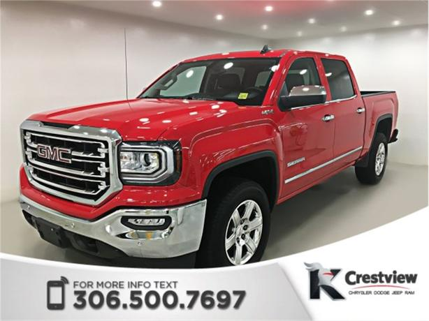 2017 GMC Sierra 1500 SLT Crew Cab | Leather | Remote Start