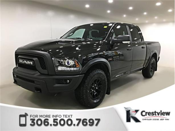 2018 Ram 1500 Rebel Crew Cab | Sunroof | Air Suspension