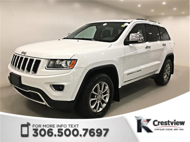 2014 Jeep Grand Cherokee Limited V6 | Sunroof | Navigation