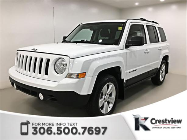 2015 Jeep Patriot North 4x4 | Heated Seats | Sunroof | Remote Start