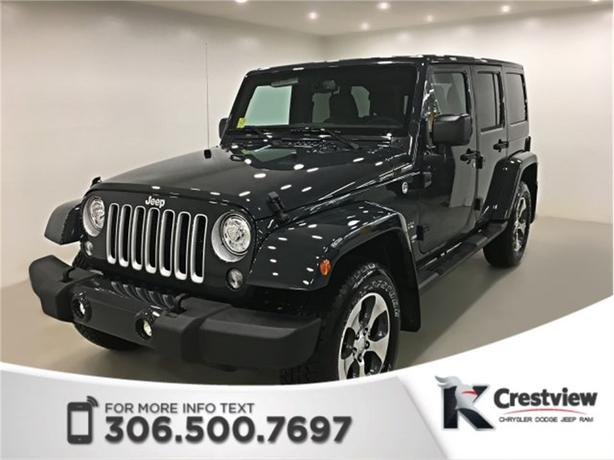 2017 Jeep Wrangler Unlimited Sahara | New Condition | Navigation | Remote Start