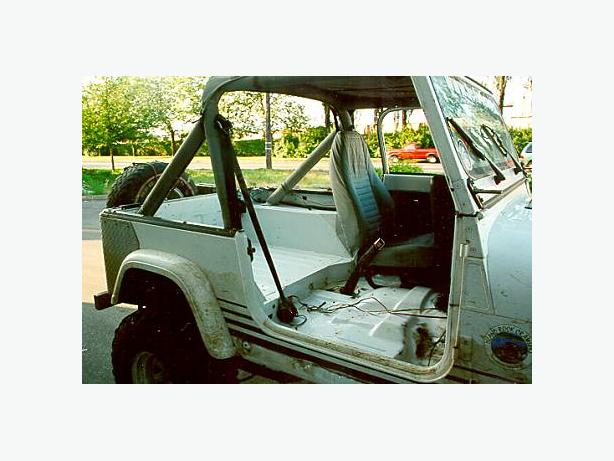 WANTED: Jeep Wrangler YJ Seatbelts :WANTED
