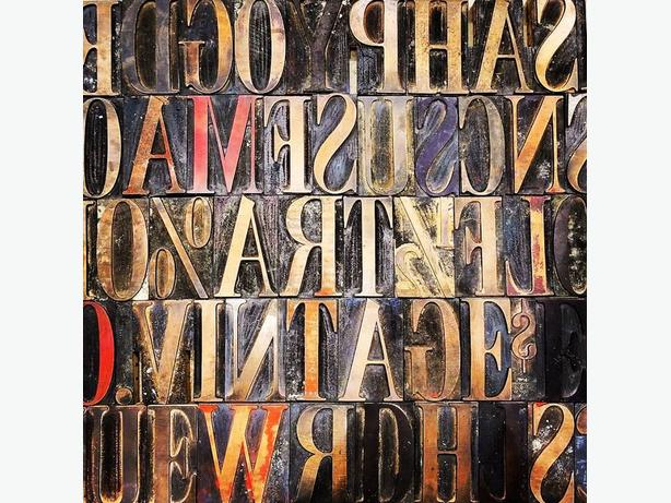 Old wood type