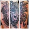 FOR TRADE:  Willing to trade high caliber professional studio tattoo work for?