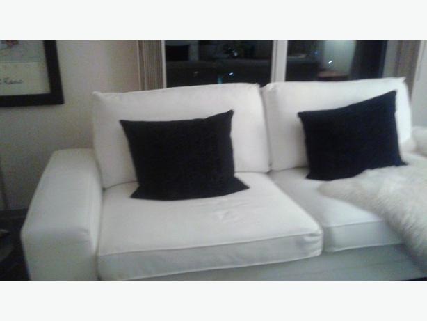 Phenomenal Log In Needed 129 New Off White Kivik Loveseat Cover Evergreenethics Interior Chair Design Evergreenethicsorg