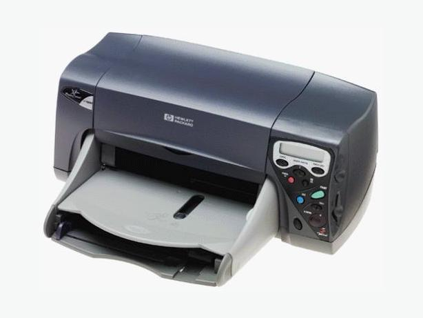 HP Deskjet document photo printer with new ink cartridges