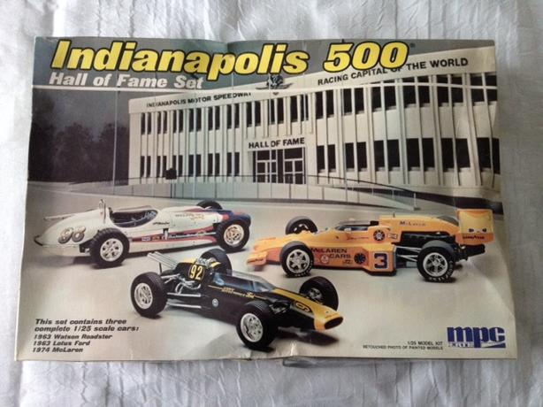 Indy 500 Hall of Fame 1/25 Model Set West Shore: Langford