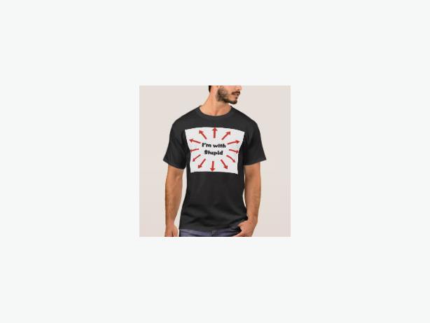I'm with Stupid T-Shirt - OK, so admit it!