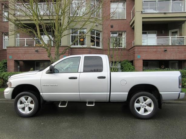 2003 Dodge Ram 1500 SLT Quad Cab 4x4 - LOCAL BC TRUCK!