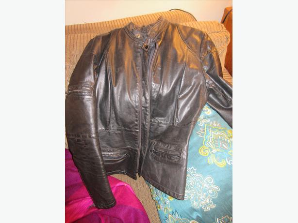 Custom Falcon Women's Leather Jacket