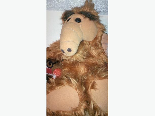 """Clean Original Stuffed 18"""" Alf"""