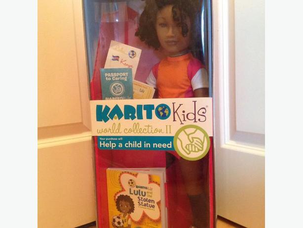 Karito Kid doll Lulu from Kenya