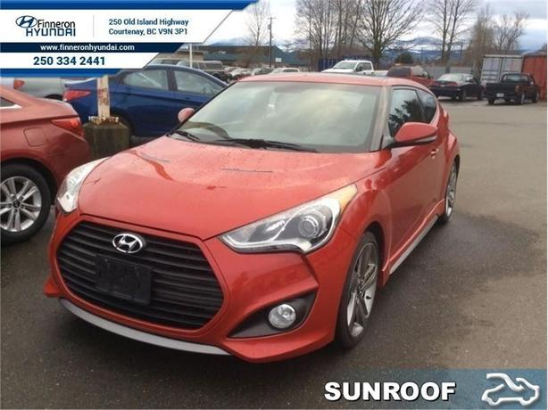 2013 Hyundai Veloster Turbo  - trade-in - Certified