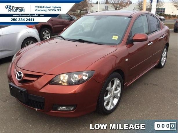 2009 Mazda Mazda3 GT  - local - trade-in - Low Mileage
