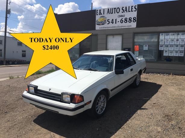 1983 TOYOTA CELICA GT 2DR AUTO 22RE
