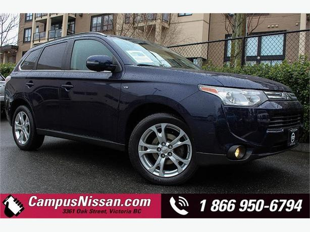 2014 Mitsubishi Outlander GT Navi + Leather