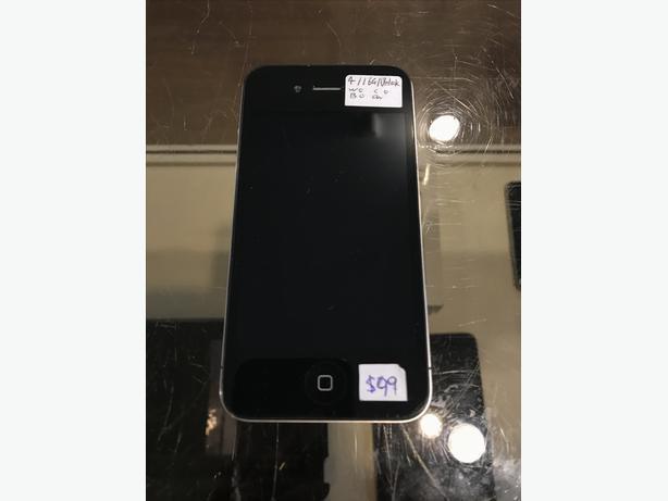 UNLOCKED iPhone 4 8 GB or 16 GB Models w/ Warranty!