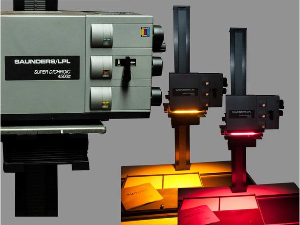 Saunders LPL Enlarger With 6x7 And 4x5 Carriers