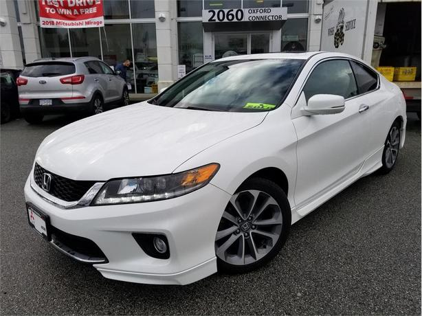 2014 Honda Accord Coupe EX-L NAVIGATION, HEATED LEATHER SEATS, POWER ROOF
