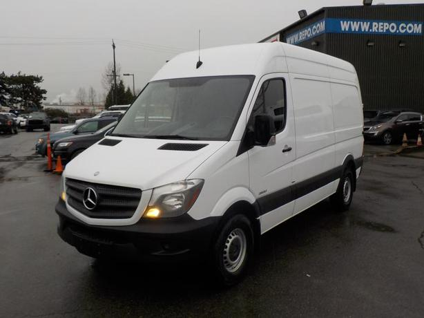 2015 Mercedes-Benz Sprinter 2500 High Roof 144-in. WB Cargo Van Diesel