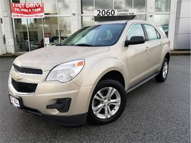 2012 Chevrolet Equinox LS ALLOY WHEELS, POWER SEAT, BLUETOOTH