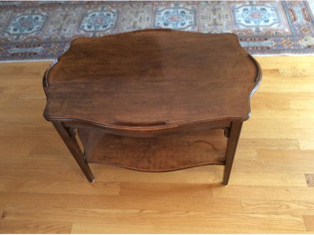VINTAGE all wood small table