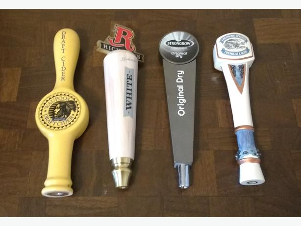 CHOICE OF BEER TAP HANDLES**