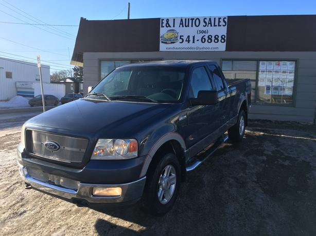2004 FORD F150 4X4 SUPERCAB in Excellent Condition