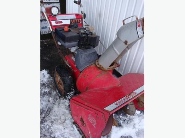 "MTD 28"" snowblower.$299"