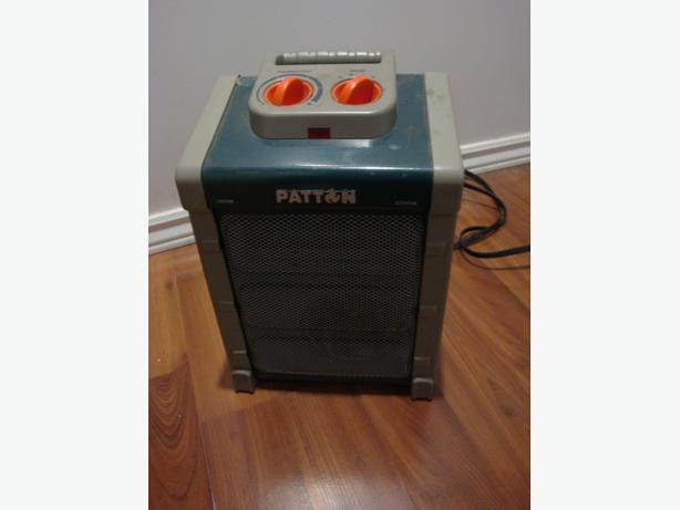 Heavy duty Patton 1500 watt Electric heater