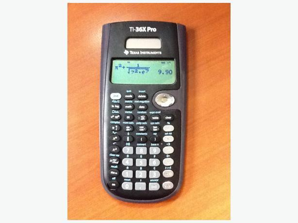 Texas Instruments TI-36X Scientific Calculator