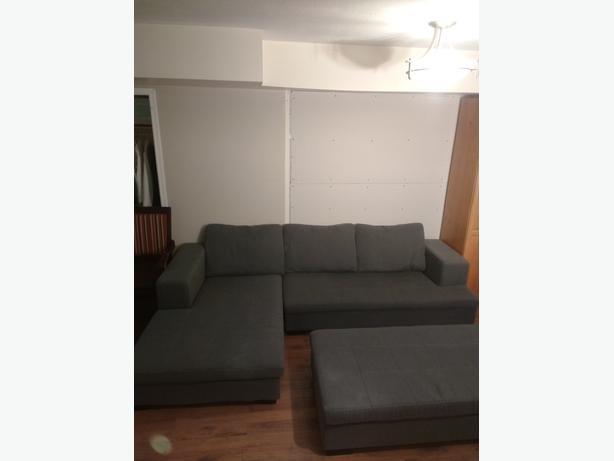Scan Designs J215 Grey Sectional Sofa