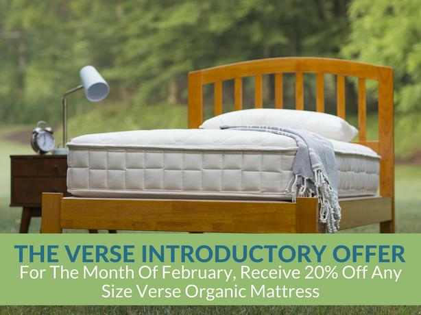 Verse Organic Mattress: On Sale Until February 28th at Resthouse