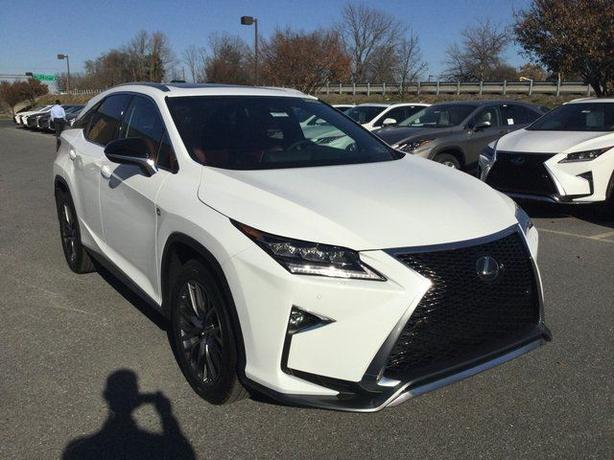 Awesome Lease Takeover   2017 Lexus RX 350 F Sport 3 Full Loaded