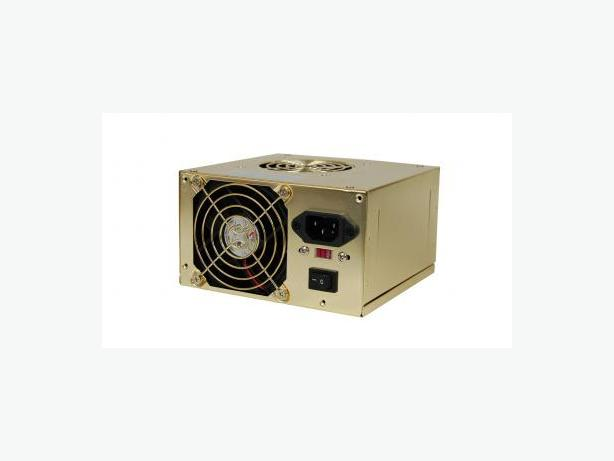 RetailPlus 550W ATX 80mm Dual Fan Power Supply