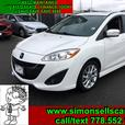 2014 MAZDA 5 GT - LOADED UP WITH HEATED LEATHER & BLUETOOTH!