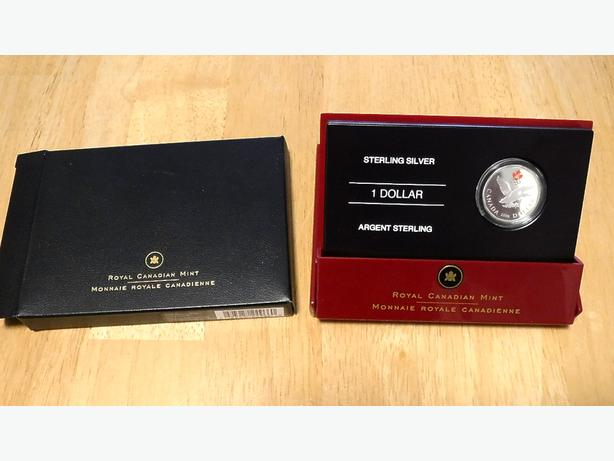 2006 Sterling Silver Lucky Loonie