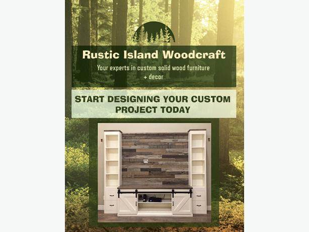 Rustic Island Woodcraft now Accepting Custom Orders