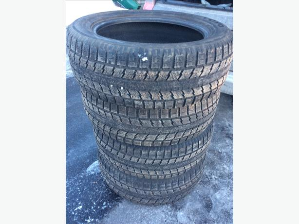 TOYO Observe 245 55 R 19, winter tires. Set of four tires.